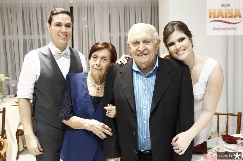 Paulo Victor, Ana Maria e Luciano Moreira de Sousa e Ana Maria