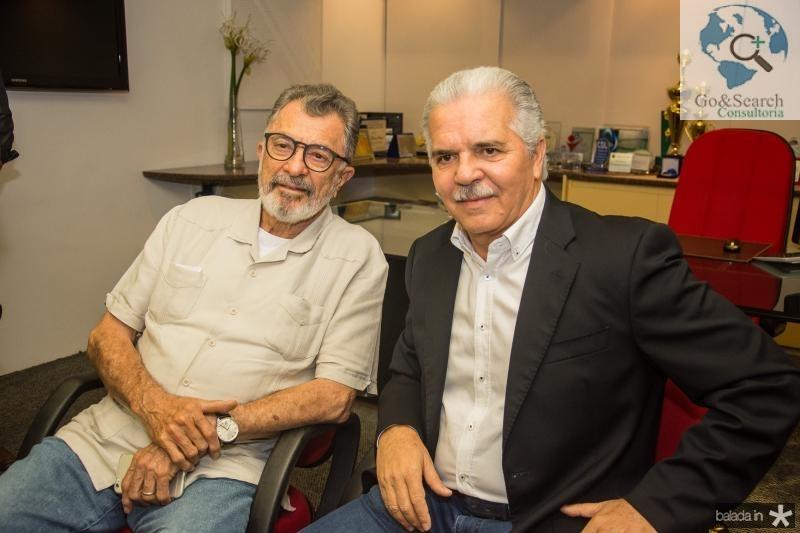 Eudoro Santana e Pio Rodrigues