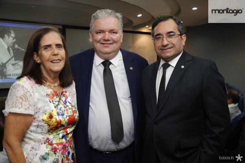 Maria Teresa Araripe, Pedro Jorge e Jardson Cruz