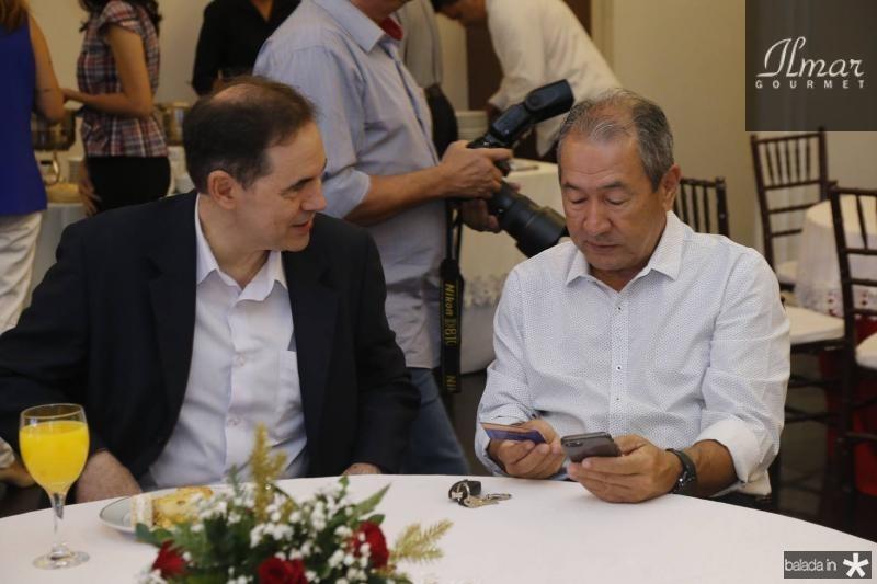 Luiz Antonio Rabelo e Coronel Romero