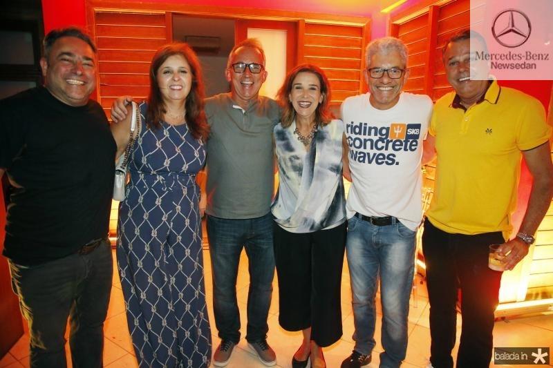Jose Walter e Valeria Mannarino, Cesar e Rosa Gioseph, Nelson Goncalves e Ernani Prudente
