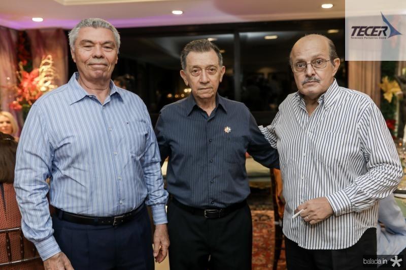 Thomaz Nunes, Joao Crizostomo e Nelson Farias