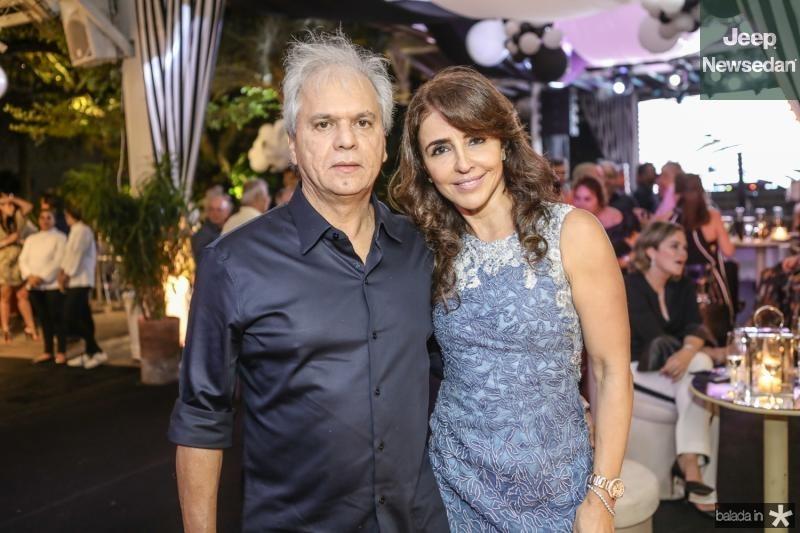 Ricardo e Denise Rolim