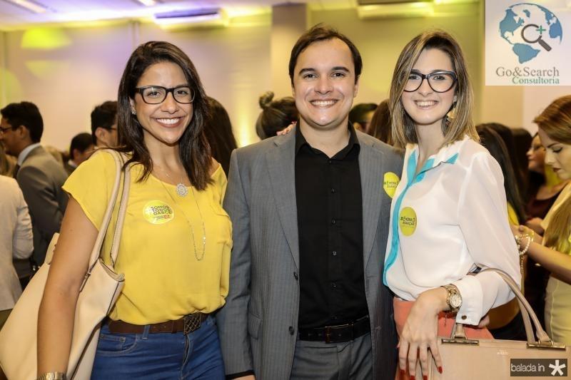 Carine Baltazar, Diogo Luna e Lires Teles