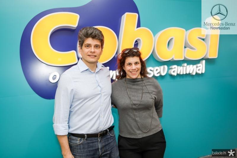 Frabricio Cavalcante e Manoela Artigas