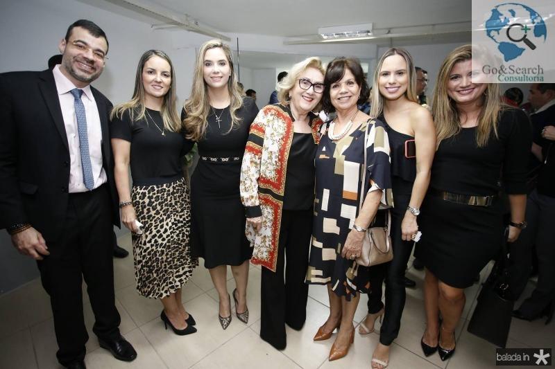 Bona Carvalho, Raquel Vasconcelos, Juliana Albuquerque, Socorro Franca, Candida Torres de Melo, Lohana Rios e Livia Barros