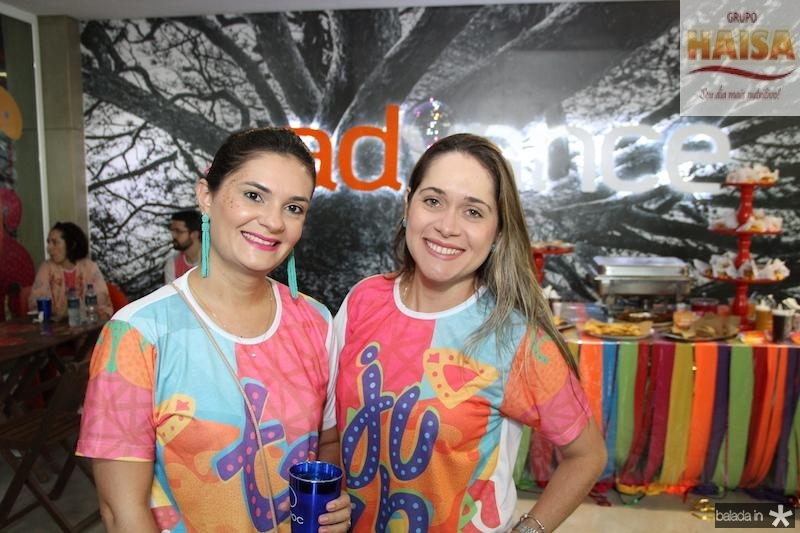 Camile Abreu e Luciana Castro