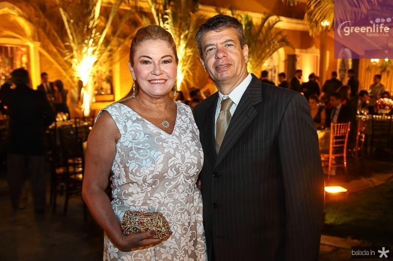Estelinha e Marcos Sales
