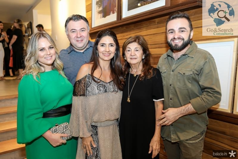 Nelise Franco, Andre Monte, Luciana Cidrao, Alci Ponce e Ramiro Mendes