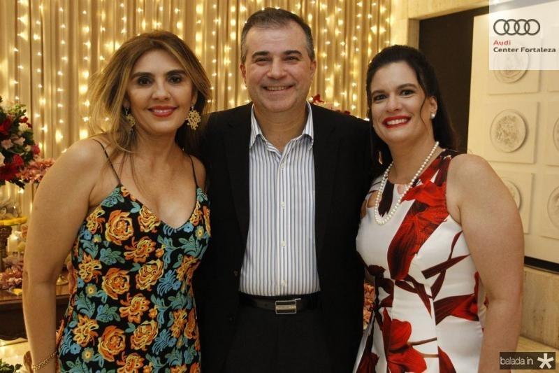 Renata Nogueira, Ricardo e Luciana Bezerra