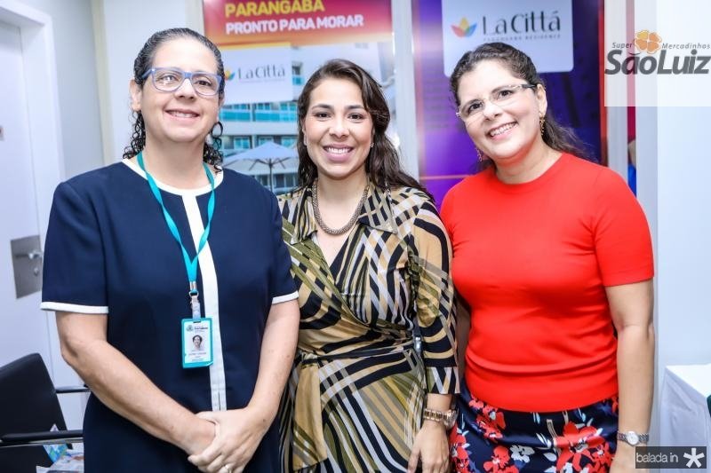 Astride Camara, Gisela Gomes e Rogestiane Nobre