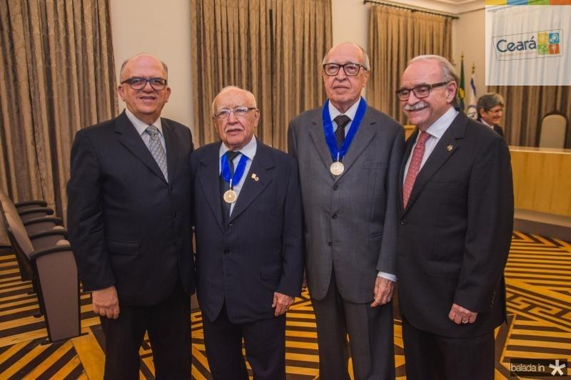 Fernando Ximenes, Ubiratan Aguiar, Lucio Alcantara e Ednilton Soarez