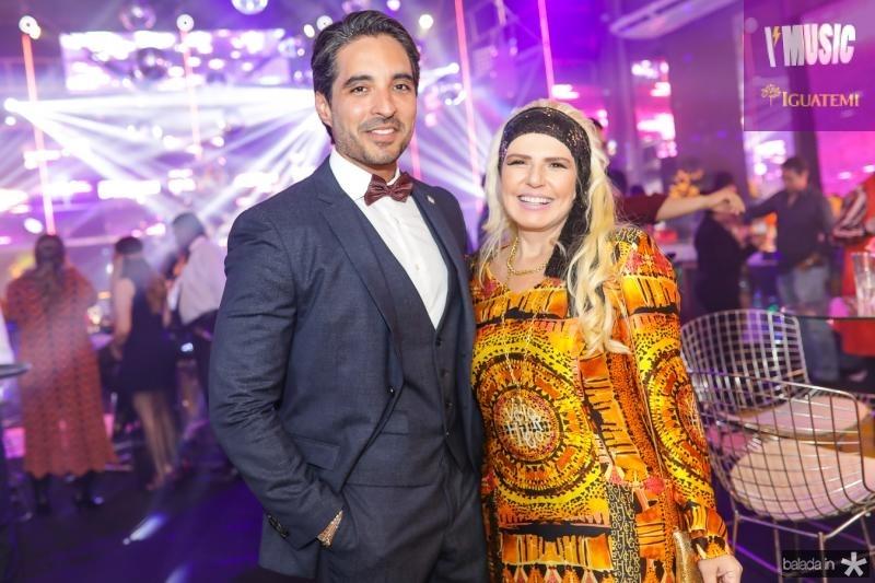 Rodrigo Porto e Sandra Mourao