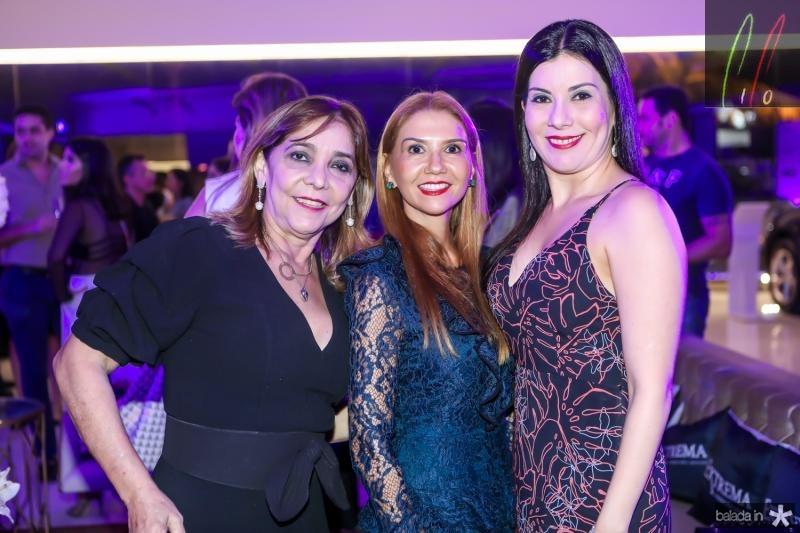 Ines Peixoto, Weine Moreira e Lia Linhares