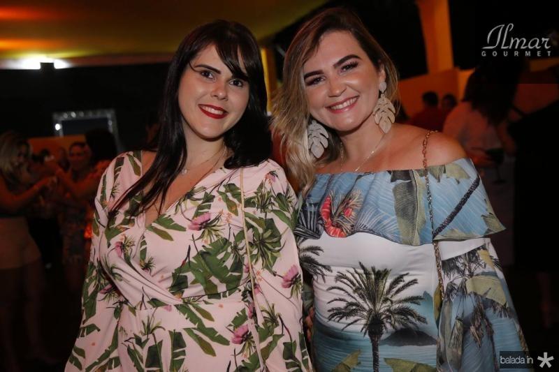 Manu Barbosa e Ina Rafaela