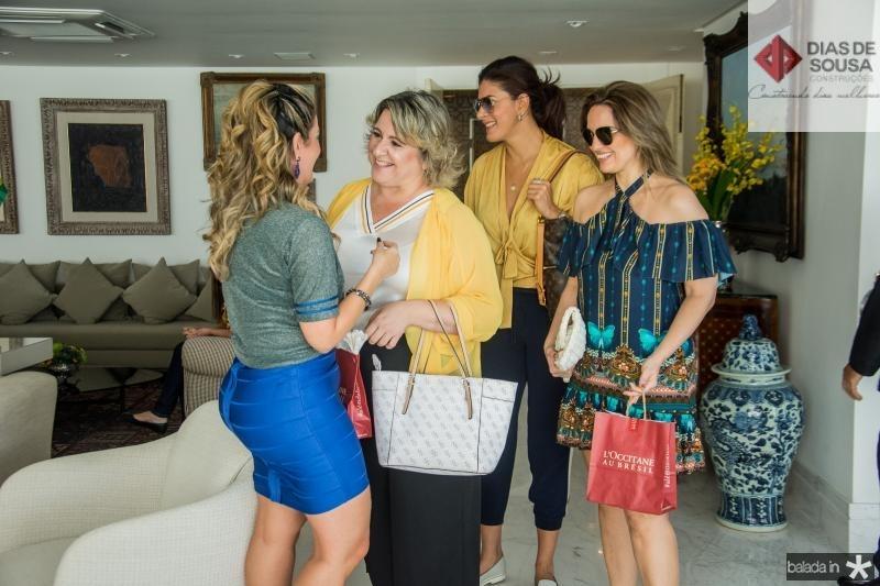 Tatiana Luna, Cecilia Portela, Tatiana Moreira e Mirna Paz