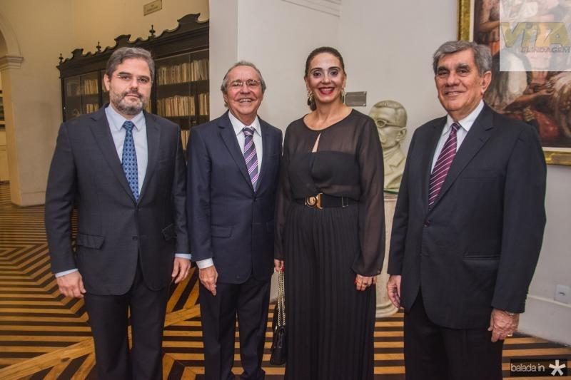 Edson Queiroz, Pedro Gomes de Matos, Magda Busgaib e Bairon Frota