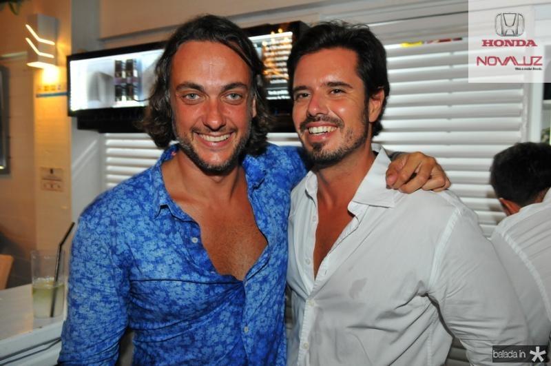 Andre Sada e  Leo Ribeiro  Cassiano de Souza