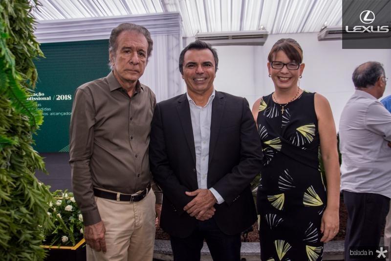 Everardo Teles, Juvencio Viana e Aline Teles Chaves