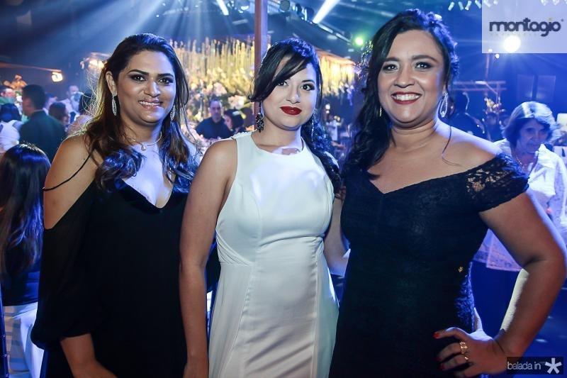 Tatiane Brito, Camile Vieira e Adriana Gurgel