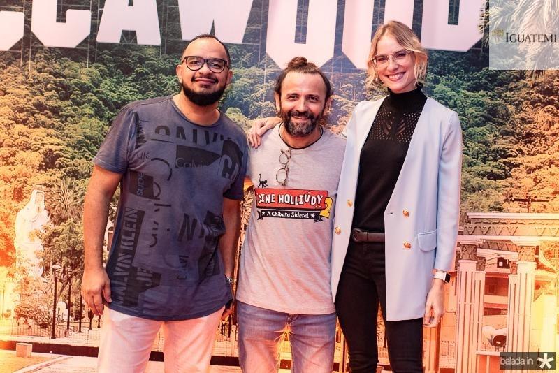 Haroldo Guimaraes, Halder Gomes e Dani Gondim