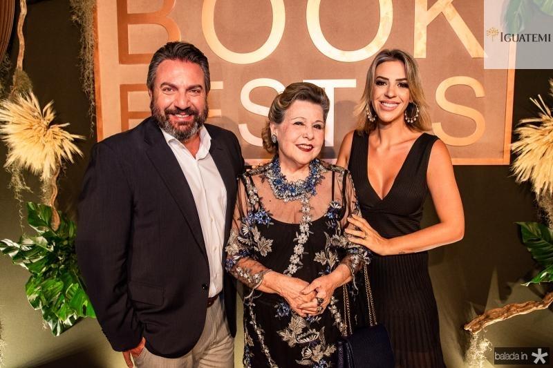 Mario Sergio Garcia, Marilza Pessoa e Renata Garcia