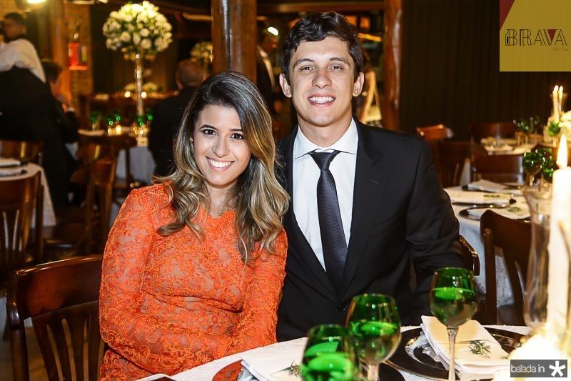 Natasha Cavalcante e Andre Tigre
