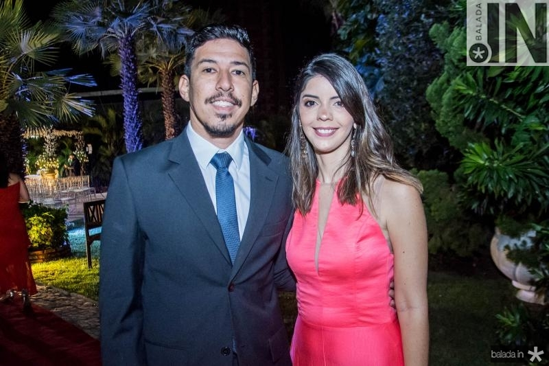 Saulo Borges e Milena Mota