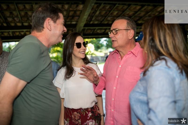 Cid Gomes, Lucinha e Chiquinho Feitosa