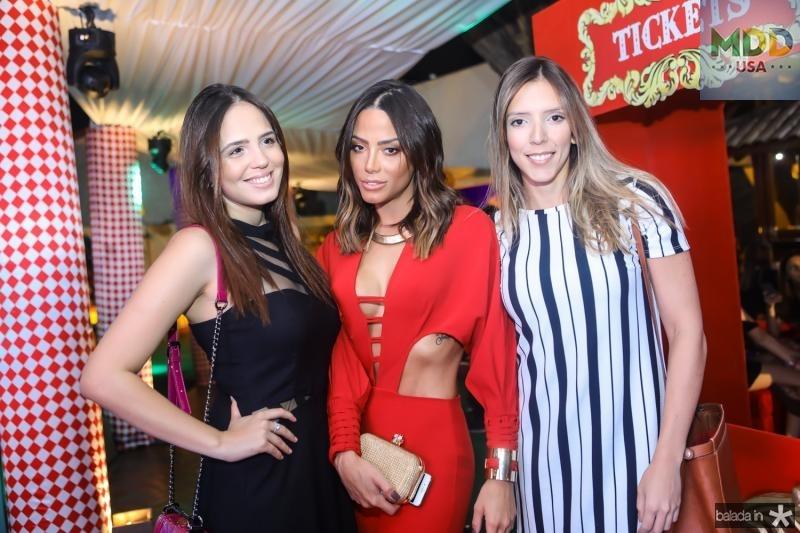 Yasmin Lima, Fernanda Sena e Raiane Maranhao