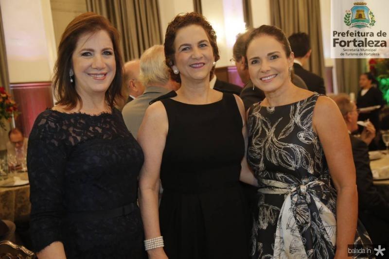 Ana Luiza, Sandra Brasil e Beatrice Ary