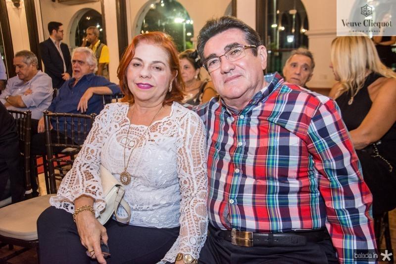 Vanja Fontenele e Lucio Pontes