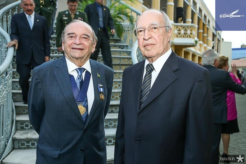 Ednilo Soares e Lucio Alcantara