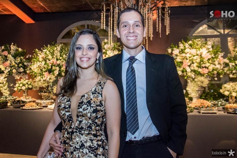 Melina e Vinicius de Holanda
