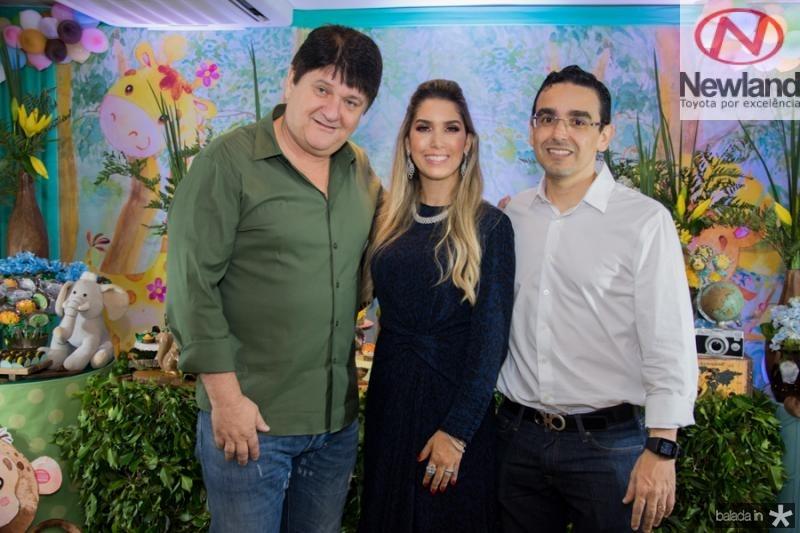 Afonso, Georgeanne e Marcio Benevides