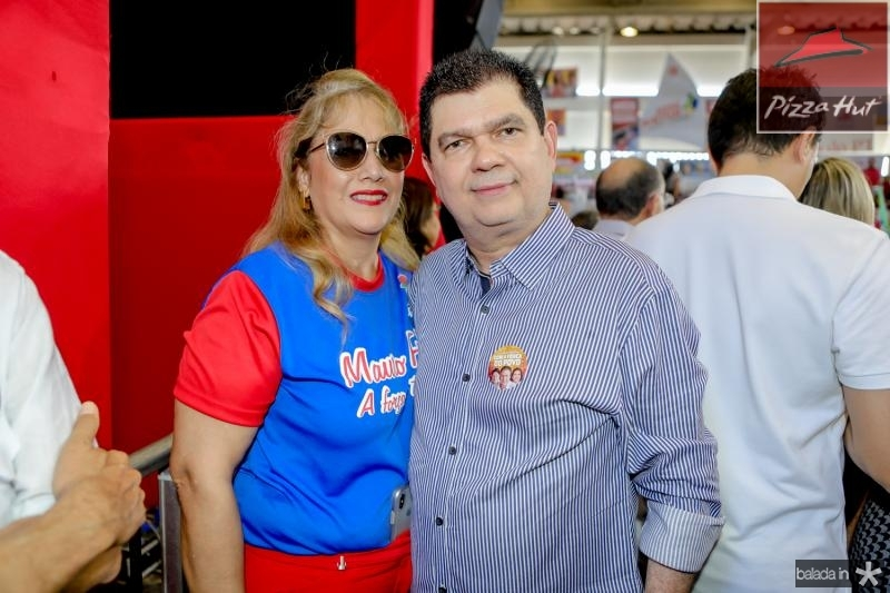 Mariza e Mauro Benevides Filho