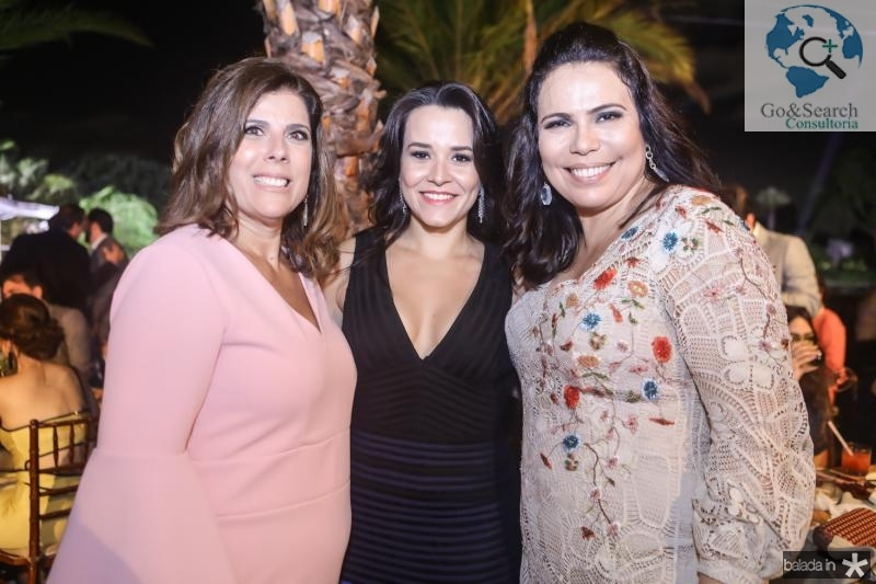 Nara Amaral, Carolina Barbosa e Andrea Rios