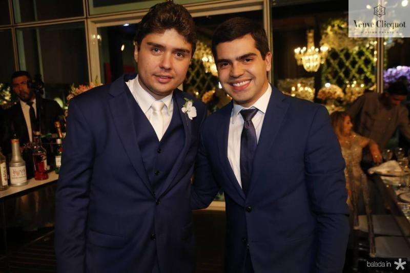 Igor Linhares e Pedro Garcia