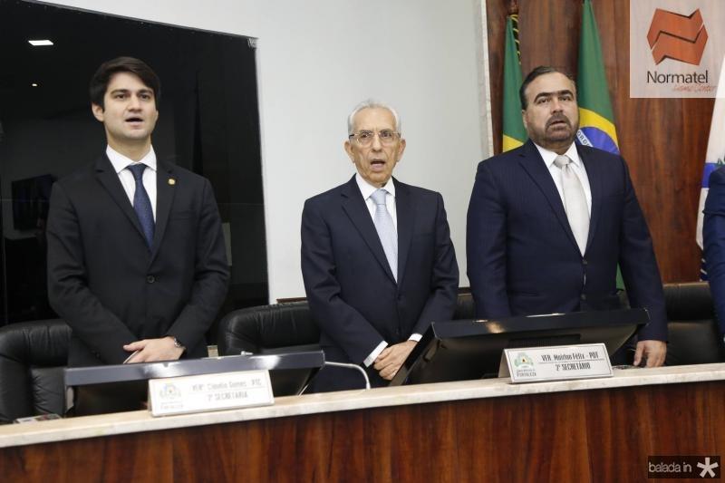 Pedro Gomes de Matos, Paulo Ponte e Helio Parente