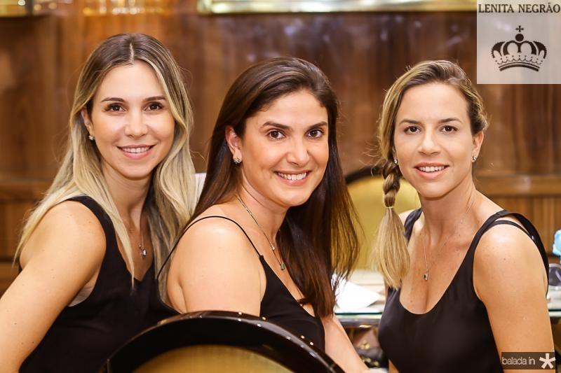 Paula Menezes, Sidia Holanda e Isabella Barros Leal