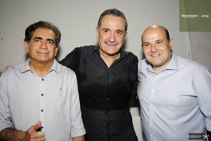 Zezinho Albuquerque, Bismarck Maia e Roberto Claudio