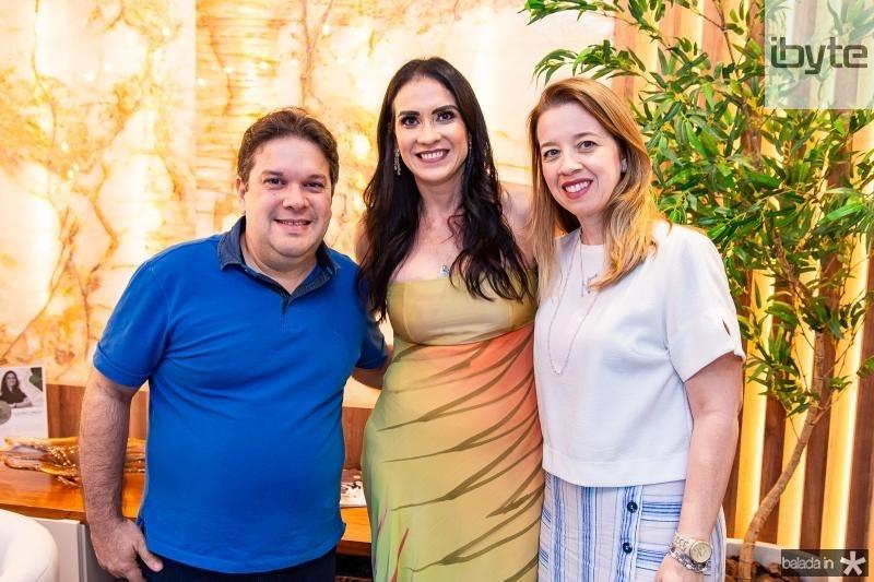 Chico Vale, Luciana Carioca e Marina Fiuza