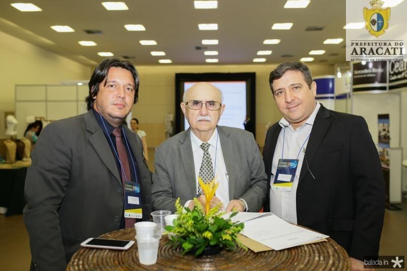 Leonardo Rodrigues, Bosco Freitas e Ney Vasconcelos