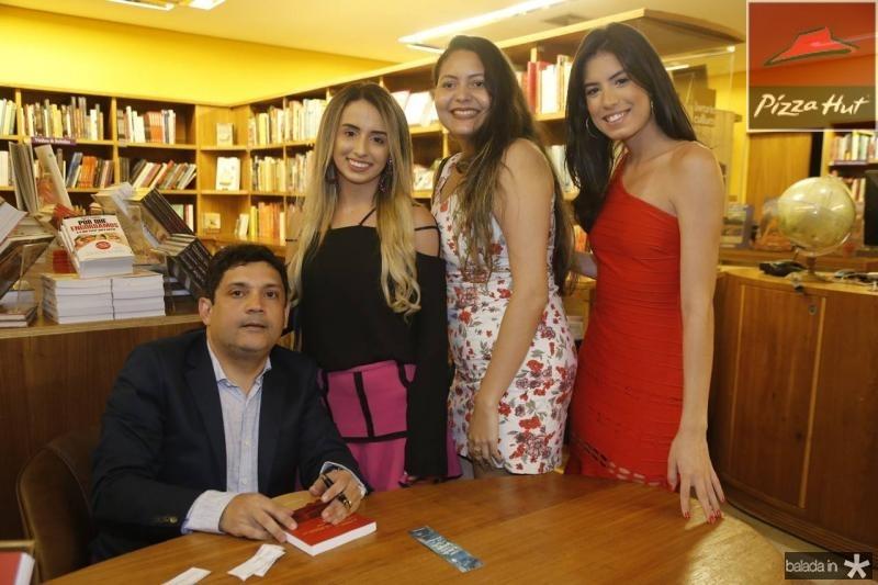 Bruno Queiroz, Alba Aguiar, Barbara Torres e Raila Castro