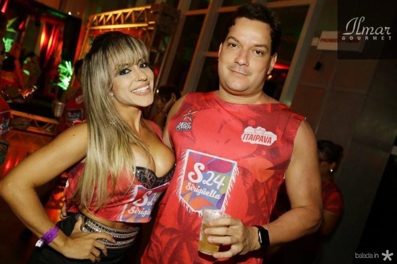 Carol Melo e Hyder Junior