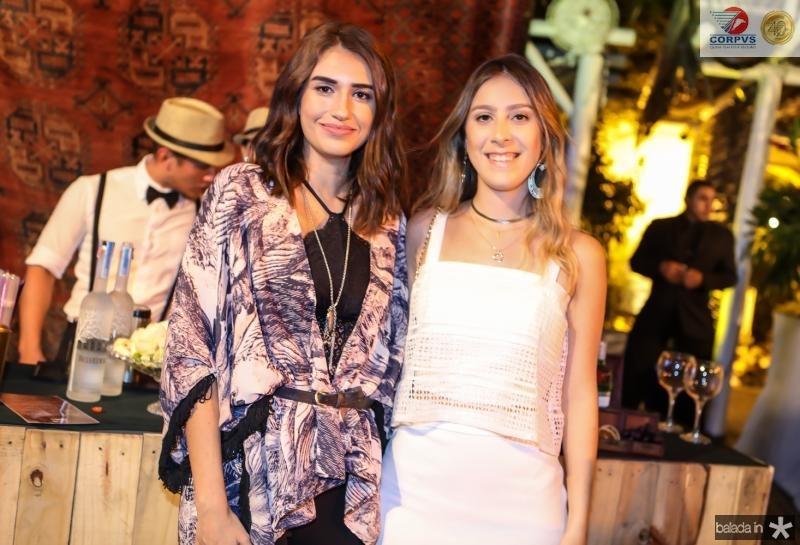 Larissa Luz e Talita Pontes