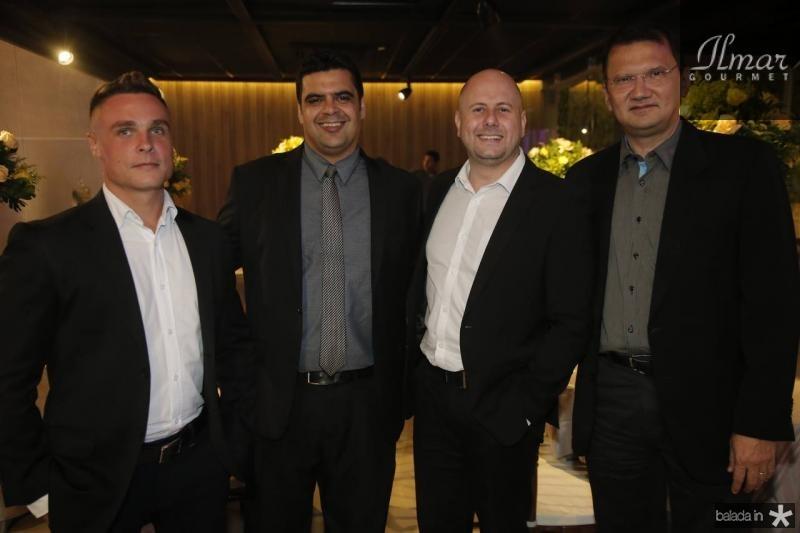 Felipe Goncalves, Daniel Pessoa, Diogo Dilamesi e Eduardo Pimentel