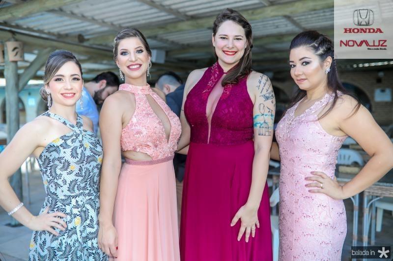 Natalia Ferezin, Caroline Vitorasso, Camila Belon e Melissa Vitorasso
