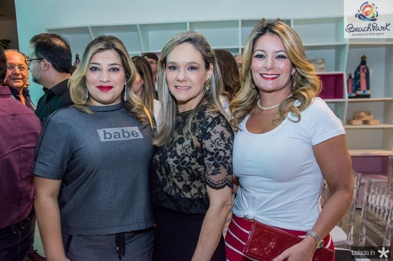 Manu Romcy, Erika Lima e Tatiana Luna