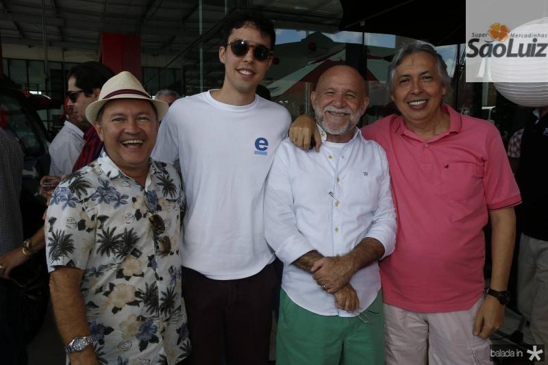 Carlos Menezes, Ozimiro Neto, William Cito e Ozemir Almeida
